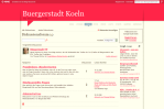 Bürgerstadt Köln Diskussionsforum