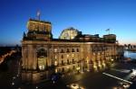 Bild 1: Reichstag Ostfassade und Kuppel