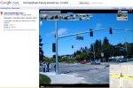 Auch Google StreetView zeigt nicht die wahre Wirklichkeit, wie die Flickr Bilder zeigen (Regen etc.)