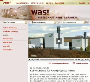 RBB_Internetseite mit Video zum Gaskraftwerk