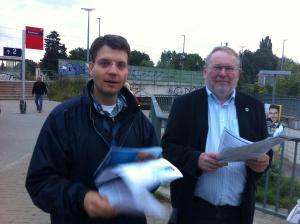 Ich unterstütze Wilhelm Garn zur Bürgermeisterwahl in Brieselang