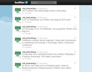 Streemline auf Twitter am 11. September 2011