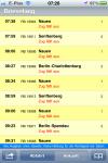 iPhone Fahrplan-App