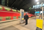 Fällt wegen Bauarbeiten eine Nacht aus: Spätzug der RB14 am Hauptbahnhof